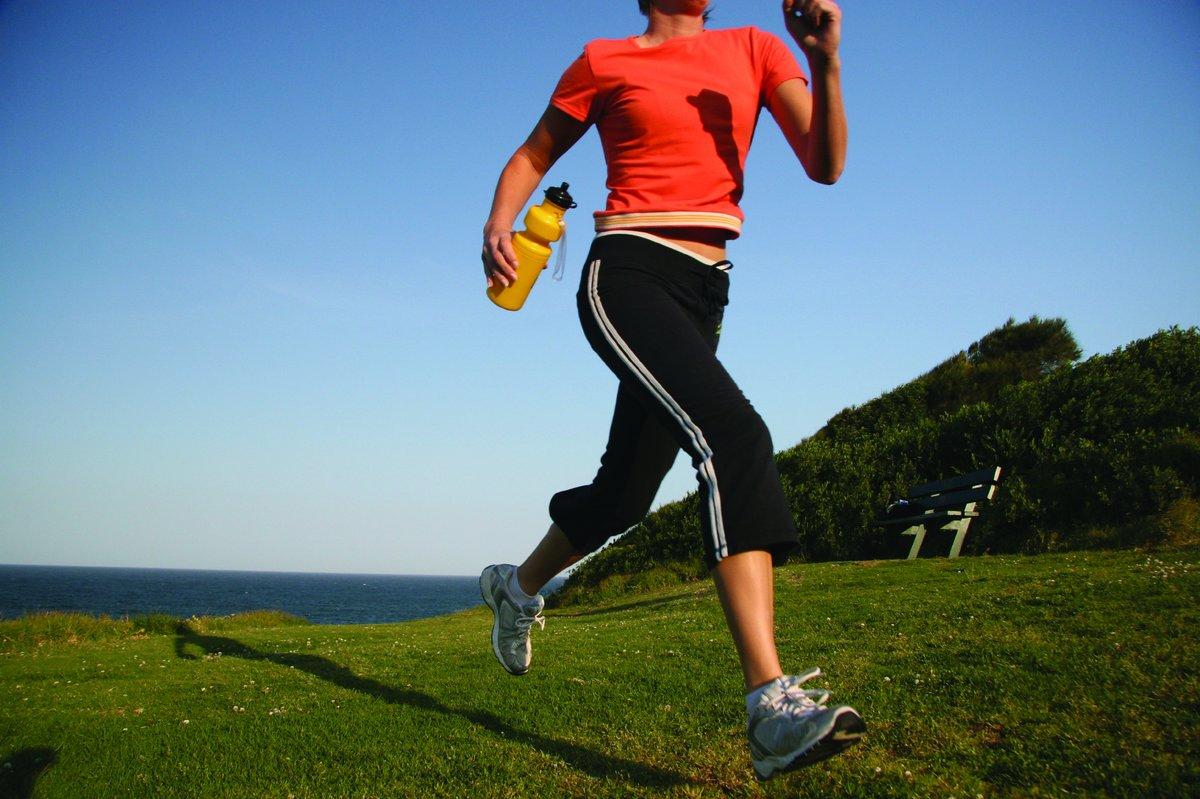 Бег похудения правильно дышать