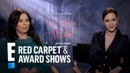 Rachel Brosnahan Alex Borstein React to 'Women Aren't Funny' Label E Red Carpet Award Shows