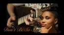 Imany - Dont Be So Shy (acoustic guitar cover)