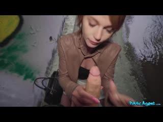 [PublicAgent] Ariela Donovan - Redhead fucked in a tunnel