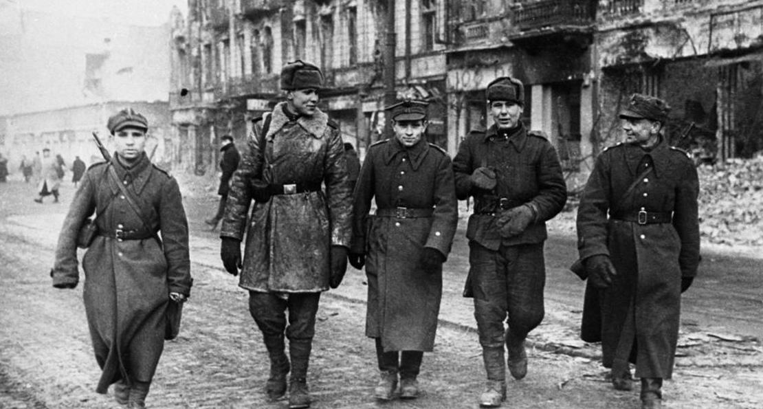 Польские и советские солдаты