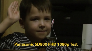 Игорь / Тест камеры Panasonic HDC-SD800 1080p