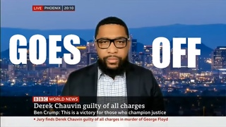 Officer Tatum GOES OFF on the BBC Network - America isn't a Racist Nation