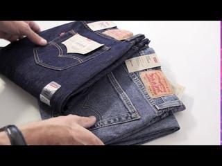 Сравнение джинсов Levi's 502 taper fit и Levi's 501.