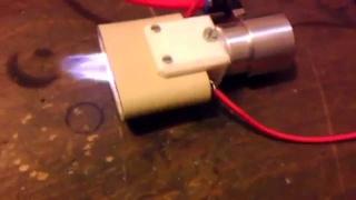 Plasma Jet with compressed air /  Atmospheric Plasma / homemade