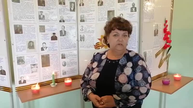 25 3 Татьяна Путилова отрывок из поэмы М Алигер Зоя Зарубинский ДК филиал МБУК Зарубинская ЦКС