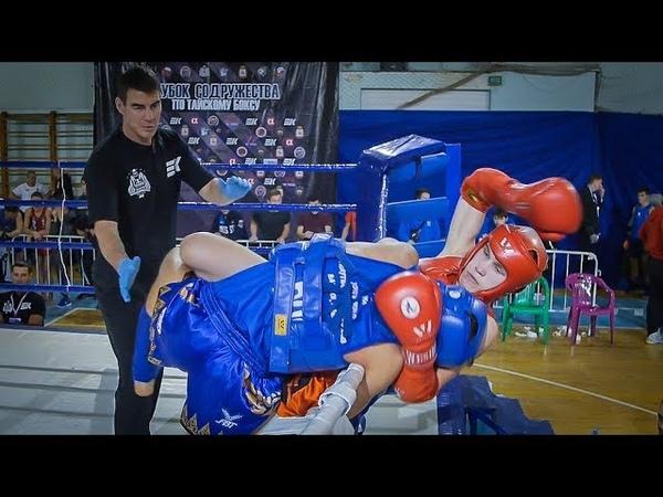 Сулаев Никитин Тайский бокс Н Новгород Кубок Содружества 02 11 2018