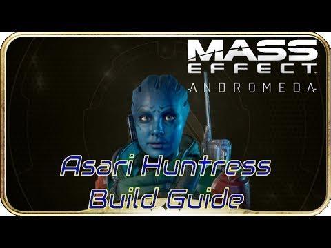 Asari Huntress infiltrator Platinum ONE LIFE TO LIVE Build Guide Mass Effect Andromeda