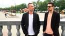 В КАДРЕ участники поп-рок –группы «Маяковский» Илья Самитов и Дмитрий Тихонов