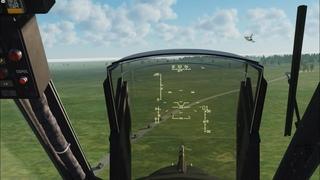 Сопровождение колонны на Полигоне К.В.А.С.,  г. Ка-50 и МиГ-21бис, DCS World.