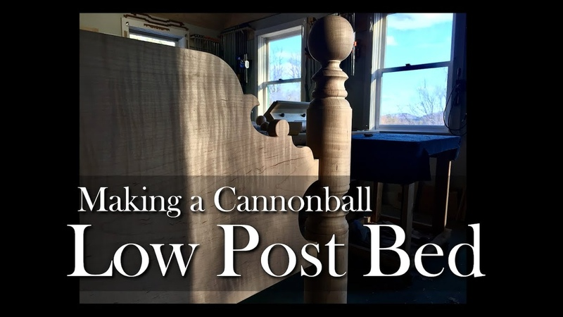Low Post Bed Building Process by Doucette and Wolfe Furniture Makers