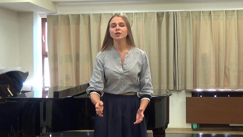 Recitative and Aria of Susanna Giunse alfin il momento . . Deh, vieni