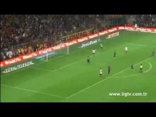 69' Goal Didier Drogba - Galatasaray 3 - 1 Mersin Idman Yurdu