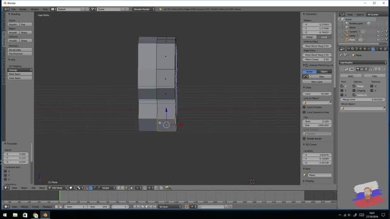 Создаем ЛЮБОЕ лоуполи животное в BLENDER за 10 минут 1080p