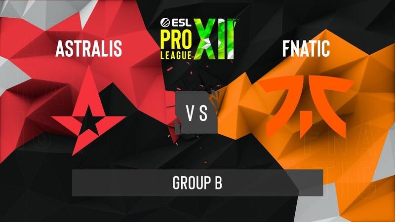 CS GO Astralis vs fnatic Inferno Map 2 ESL Pro League Season 12 Group B EU