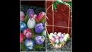 Корзина садовых тюльпанов из мыла ручной работы