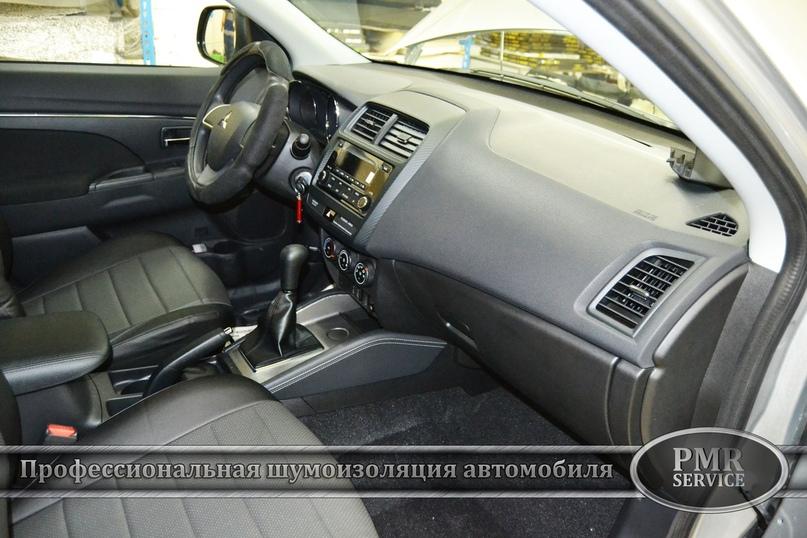 Комплексная шумоизоляция Mitsubishi ASX, изображение №17