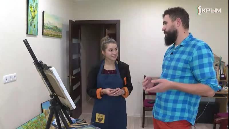 Телеэфир посвященный дню акварели Художник Шубин Артем