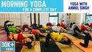 Morning Yoga For A Complete Day Full Yoga Class Anmol Singh Vietnam Shivom Yoga Dance