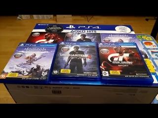 Максим Смирнов PS4 slim /playstation 4 slim. Обзор, мнение, сравнение, распаковка.