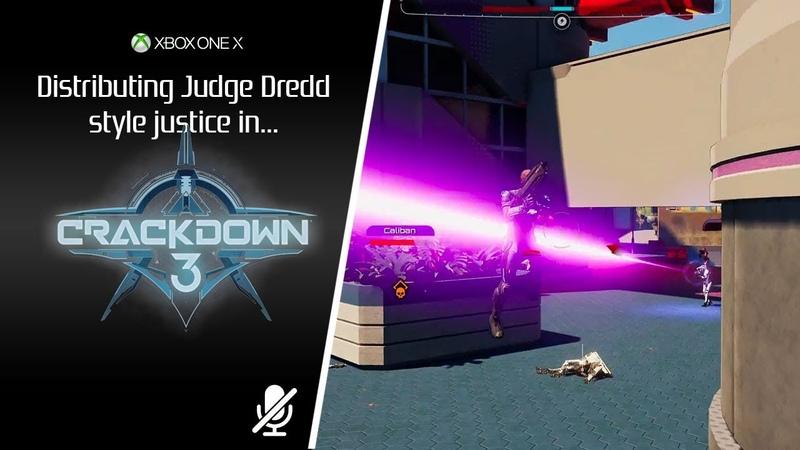 Crackdown 3 XOX First mins
