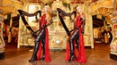 DEATH WALTZ - Original Song - Harp Twins, Camille and Kennerly