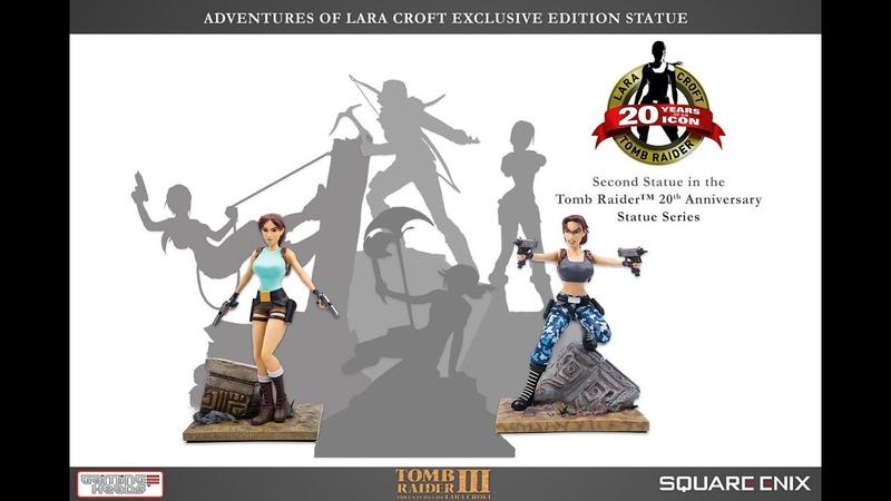 Gaming Heads Tomb Raider™ III Adventures of Lara Croft Drop test