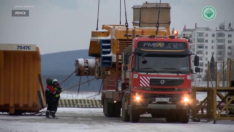 В АЛРОСА тестируют газовый Белаз