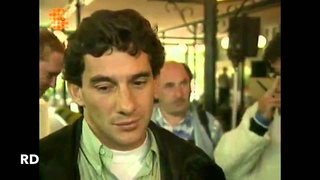 F1 GP Spa 1993 - Senna And Schumacher [Interview]