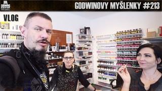Godwinovy myšlenky #213 - Vimeo, Patreon, Co bude a fakt dobrá nápada