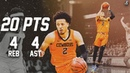Cade Cunningham With Another 20 Point Ball Game | Full Highlights vs TSU | 20 Pts, 4 Rebs 4 Ast!