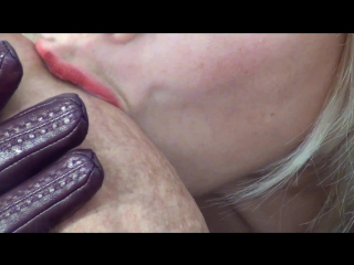 [cbtrample.com] mistress alina - my stroking tongue will make you crazy. close up blowjob