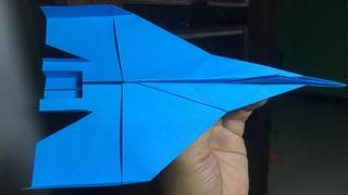 How to make a paper airplane very easy | วิธีสร้างเครื่องบินกระดาษที่ดี$