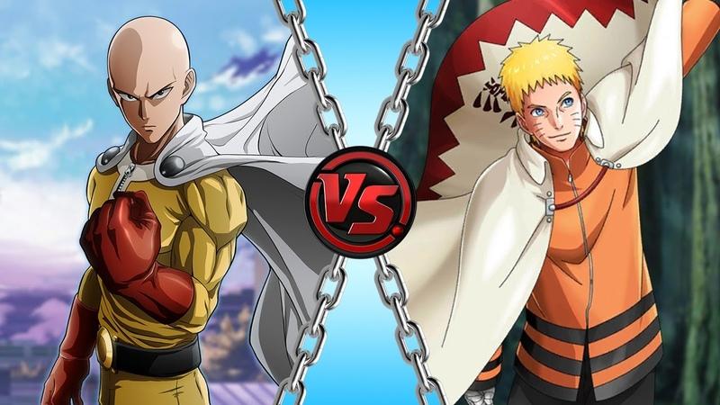 Saitama vs Naruto