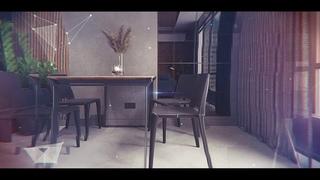 Дизайн интерьера двухкомнатной квартиры, Новая Тверская