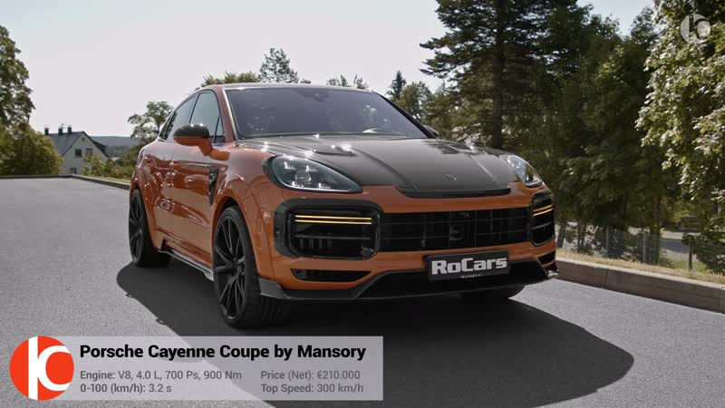 2020 Porsche Cayenne Turbo S Coupe by Mansory New Wild SUV Exhaust Sound Interior Exterior And Drive New Wild 4K RoCars