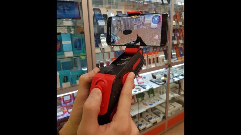 Геймпад беспроводной RITMIX GP-056BTH Black Red AIR GUN, для смартфонов на базе Android и iOs в магазинах Техноград!