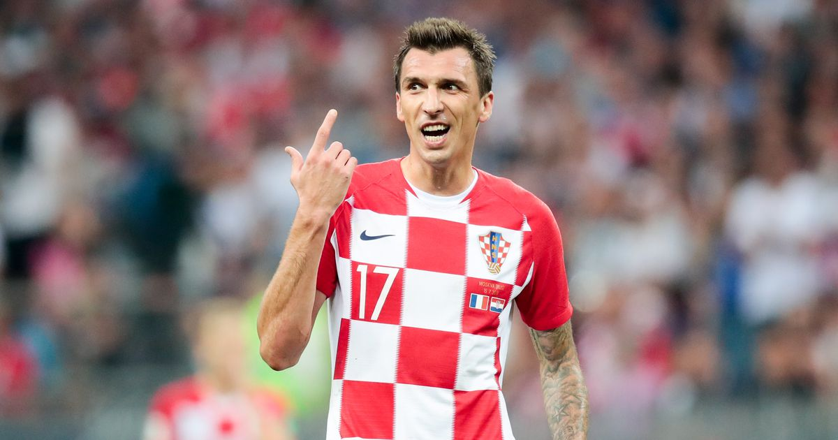 Марио Манджукич. Сборная Хорватии