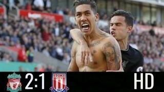 Liverpool FC vs Stoke City:2-1:Full Highlights HD(8/4/2017)