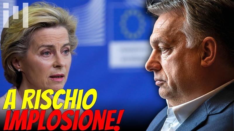 """L'UE RISCHIA DI IMPLODERE Parlamento Europeo come polizia politica"""""""
