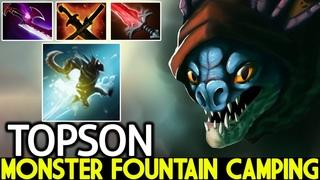 TOPSON [Slark] When Monster Fountain Camping No Mercy Dota 2