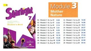Starlight 7 - Module 3 - Student's Book Audio