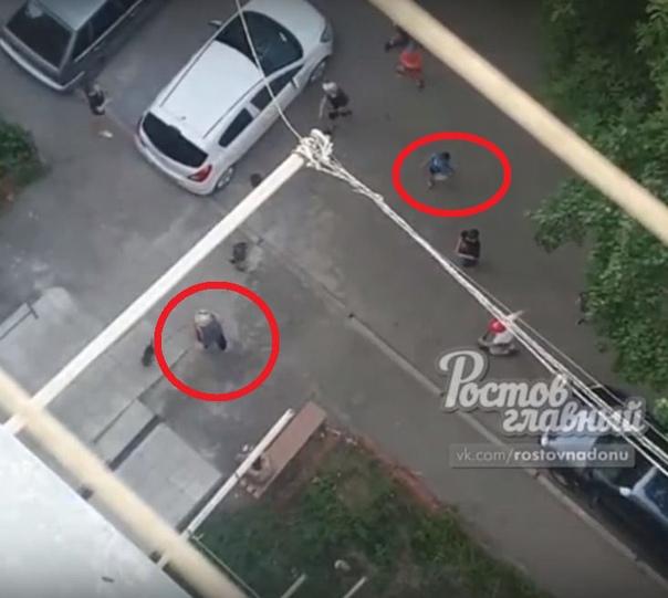 В Ростове-на-Дону дети закидали камнями старушку, которая сделала им замечание. Очевидцы рассказала, что дети каждый день «творят беспредел» и кидаются камнями, повреждая припаркованные во дворе