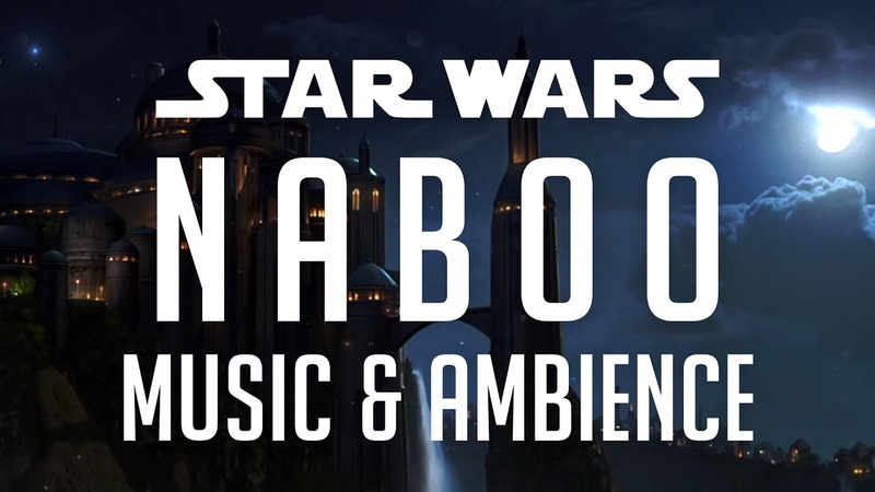 Star Wars Music Ambience Naboo Peaceful Scene of the Theed Royal Palace
