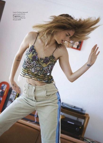 Прекрасная Самара Уивинг прямиком со страниц Vogue Australia