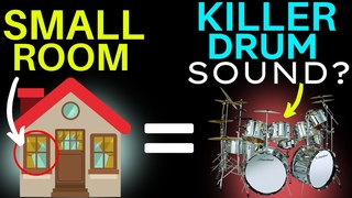 Killer Drum Sounds From A Small Room? -